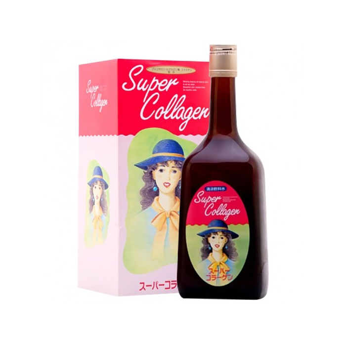 Nước uống chống lão hóa Super Collagen CoQ10 Nhật Bản (Chai 720ml)