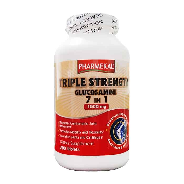 Tpbvsk xương khớp Pharmekal Triple Strength Glucosamine 7IN1 1500mg