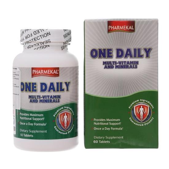 Tpbvsk Pharmekal One Daily Multivitamin and Minerals