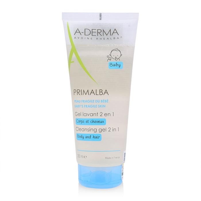 Sữa tắm gội cho bé A-derma Primalba Cleansing Gel 2 in 1 200ml