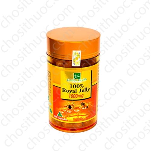 Royal Jelly 1600mg Golden Health | Chai 100 viên