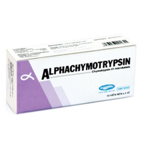 SaviPharm Alphachymotrypsin, Hộp 20 viên
