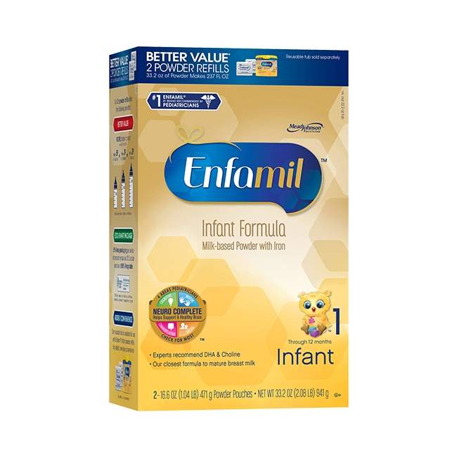 Sữa Enfamil premium Infant cho bé từ 0 đến 12 tháng