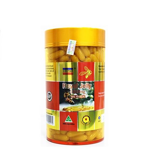 Sữa ong chúa Costar Royal Jelly1610mg, Chai 365 viên