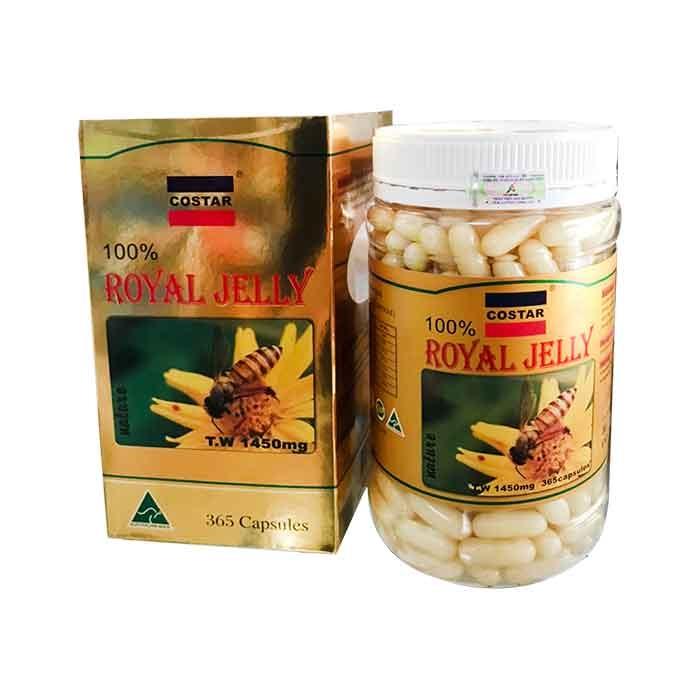 Sữa ong chúa Costar Royal Jelly 1450mg New
