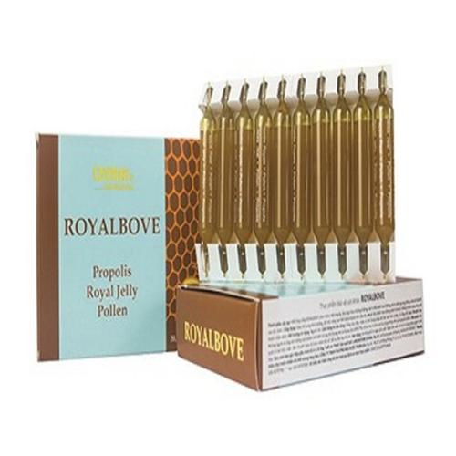 Sữa ong chúa ROYAL BOVE | Hộp 20 ống