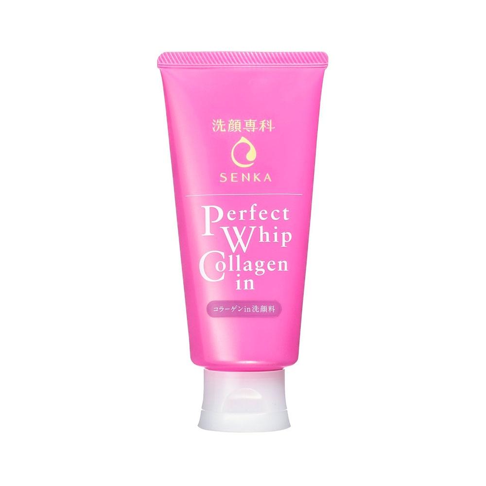 Sữa Rửa Mặt Senka Perfect Whip Collagen 120g
