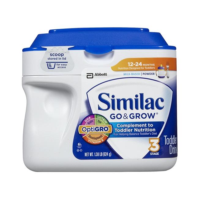 Sữa Similac Go Grow 624gr