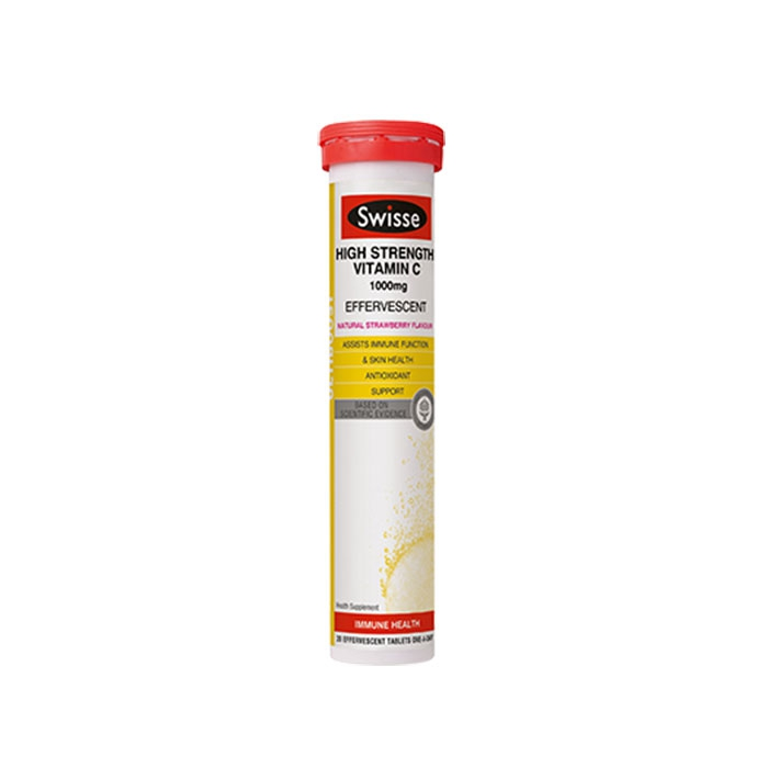 Tpbvsk Swisse High Strength Vitamin C 1000mg, Tuýt 20 viên