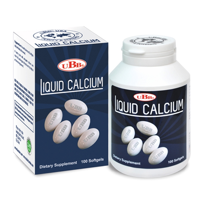 Thực phẩm bảo vệ sức khỏe UBB Liquid Calcium