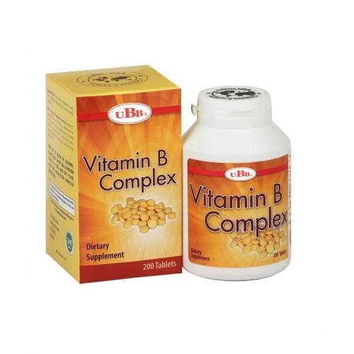 Thực phẩm bảo vệ sức khỏe UBB VITAMIN B COMPLEX