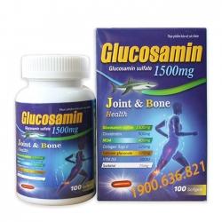 Glucosamin 1500mg Joint & Bone Health - Hộp 100 viên