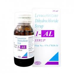 Thuốc Levocetirizine Dihydrochloride Syrup 1- Al, Chai 30ml