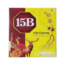 Tpbvsk 15B with Ginseng, Hộp 100 viên