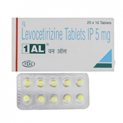 Thuốc 1 AL Levocetirizine 5mg, Hộp 20 viên