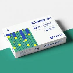 Thuốc Albendazol 400, Hộp 30 viên