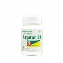 Pharmedic Aspifar 81mg, Lọ 60 viên