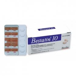 Thuốc tim mạch Bestatin 10mg, Hộp 100 viên
