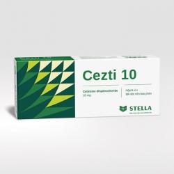 Thuốc chống dị ứng Cezti 10, Hộp