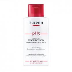 Sữa tắm cân bằng độ pH cho da nhạy cảm Eucerin pH5 Skin-Protection 400ml