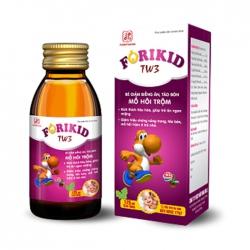 Tpbvsk Forikid TW3 giúp kích thích tiêu hóa, giúp ăn ngon miệng, Chai 125ml