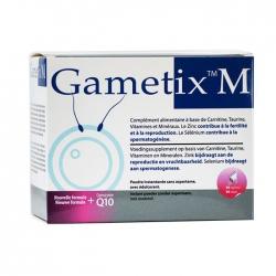 Tpbvsk tăng chất lượng tinh trùng Gametix M, Hộp 30 gói