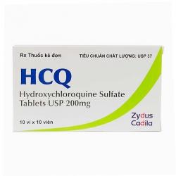 Thuốc điều trị sốt rét HCQ 200mg, Hộp