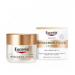 Kem chống lão hóa đêm Eucerin Hyaluron Filler + Elasticity Day Cream SPF 15 50ml