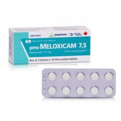 Thuốc tri thấp khớp Imexpharm Meloxicam 7,5mg, Hộp 30 viên