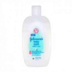 Sữa tắm dưỡng ẩm chứa sữa và tinh chất gạo Johnsons Baby Bath Milk + Rice 500ml