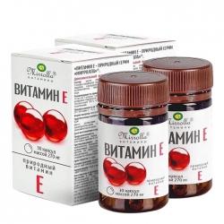 (Combo 2 hộp) Tpbvsk Mirrolla Vitamin E 270mg của Nga, 30 viên/ Hộp