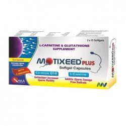 Tpbvsk tăng chất lượng tinh trùng Motixeed Plus, Hộp 30 viên