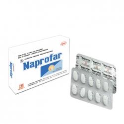 Pharmedic Naprofar 550mg, Hộp 10 viên