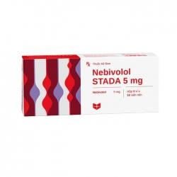 Thuốc tim mạch Stella Nebivolol Stada 5mg