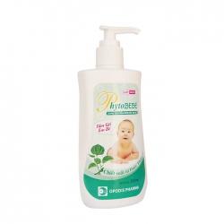 Dung dịch tắm rôm sẩy em bé Phytobebe 250ml