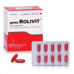 Thực phẩm bảo vệ sức khỏe Rolivit, Hộp 100 viên