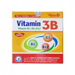 Tpbvsk Vitamin 3B Vinaphar, Hộp 100 viên