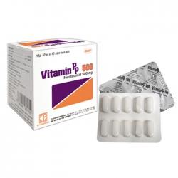Pharmedic Vitamin PP 500mg, Hộp 100 viên