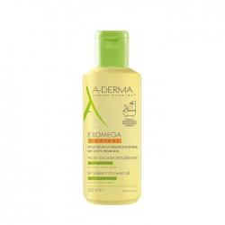 Sữa tắm dạng dầu cho da viêm da rất khô A-Derma Exomega Control Emollient Shower Oil 200ml