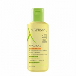 Dầu tắm dành cho da khô, da viêm cơ địa A-Derma Exomega Emollient Cleansing Oil  200ml