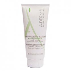Gel rửa mặt và cơ thể da kích ứng A-Derma Soothing Foaming Gel 200ml