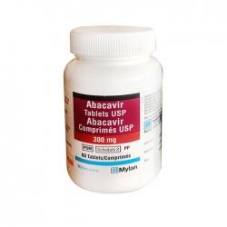 Thuốc Mylan Abacavir Tablets USP 300mg, Chai 60 viên