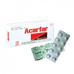 Pharmedic Acarfar 50mg, Hộp 10 viên