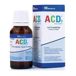 ACD3 bổ sung Vitamin D3