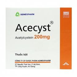 Acecyst 200 Agimexpharm 30 gói x 1,6g