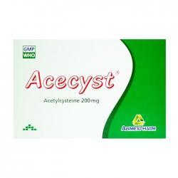 Acecyst 200mg Agimexpharm 10 vỉ x 10 viên