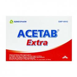 Acetab Extra Agimexpharm 10 vỉ x 10 viên