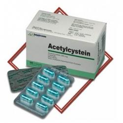 Thuốc ho Imexpharm Acetylcystein 200mg, Hộp 100 viên