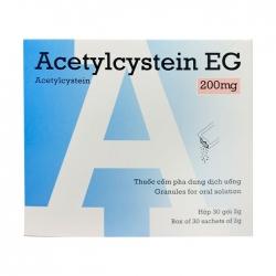 Acetylcystein EG 200mg PMP 30 gói