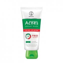 Sữa rửa mặt Acnes Medicated Creamy Wash, Tube 100g